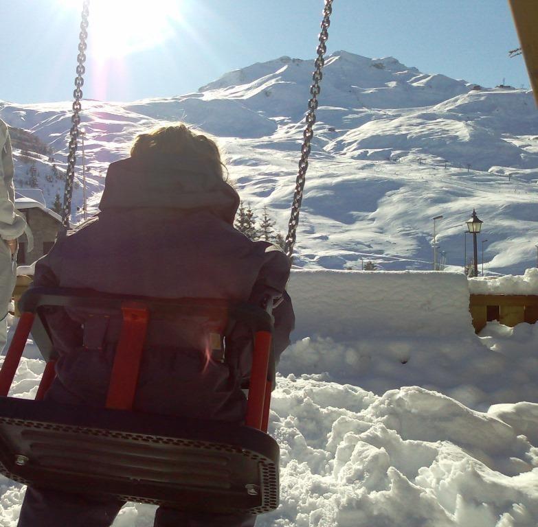 Esquiar con niños pequeños