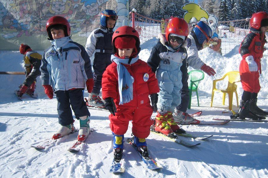 Mono Esquiar Niños