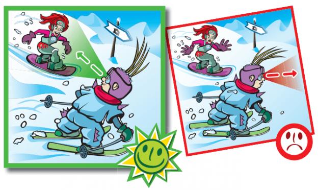 10 Reglas del Esquí en Viñetas Esquia Con Peques