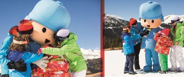 Esquia con Peques Pal Pocoyó