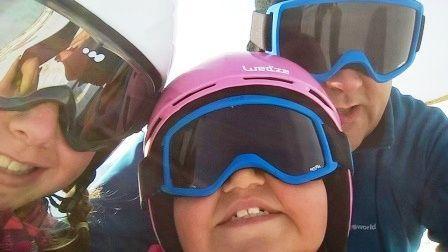 Feliz Día del Padre Esquia Con Peques