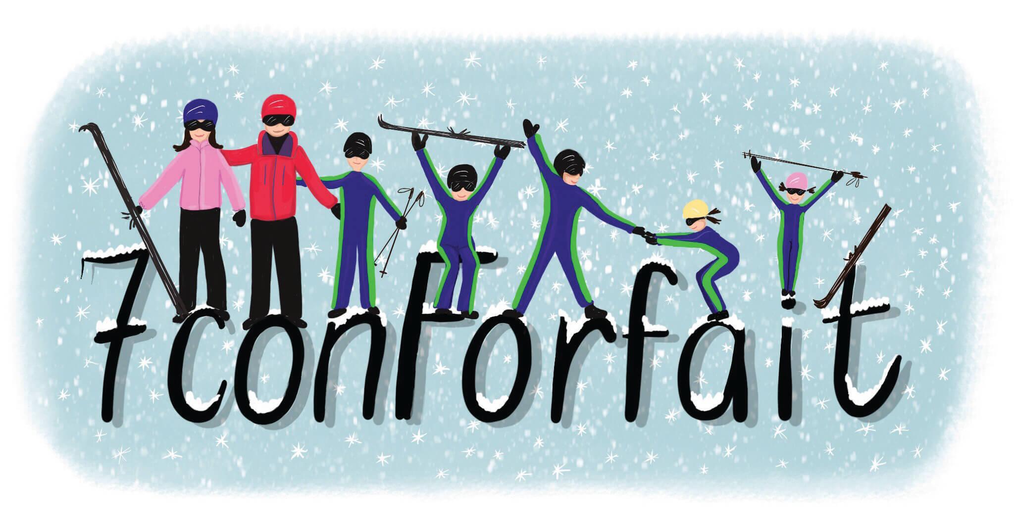 Esquia con Peques Familia familia genial de 7 Esquiadores