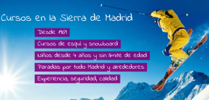 Club Amistad Esquí - Cursos Sierra Madrid