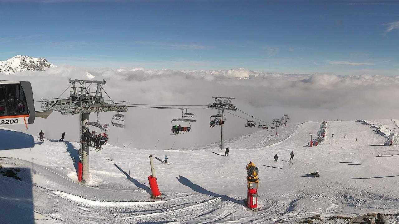 saintlary-bouleaux Esquia con Peques Reyes Niños Peques Nieve Familia 2017 2018